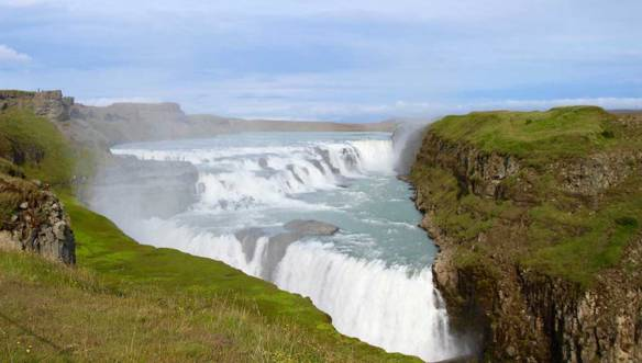 Исландия-водопад-Гулфосс