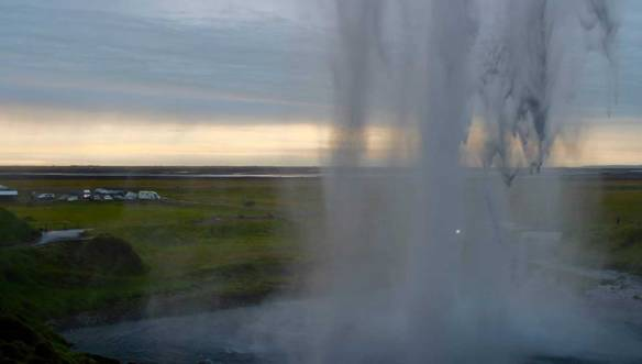 Исландия-Водопад-Селджанадсфосс