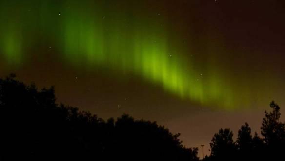 Исландия-северное-сияние
