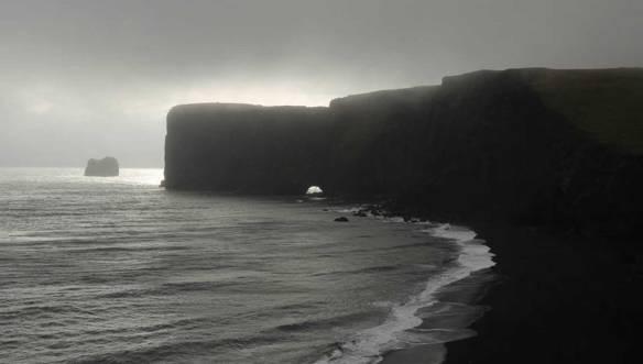 Исландия-скалы-Вика