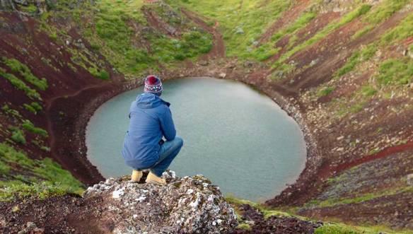 Исландия-Керид-кратер