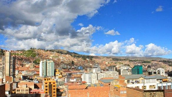 Боливия-вид-на-Ла-Пас