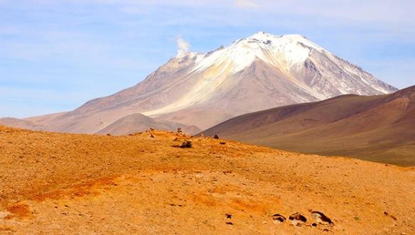 Боливия-Катер-вулкана