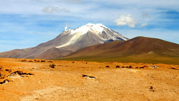 Боливия-Ольягуе-вулкан