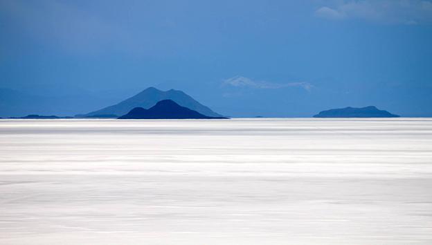 Боливия-Мираж-в-соляной-пустыне
