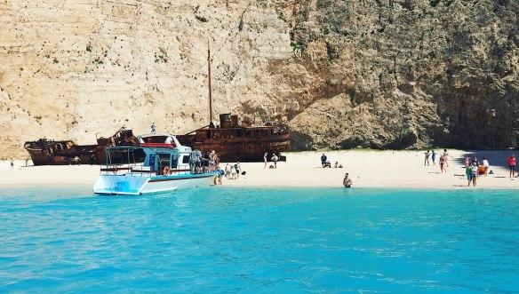 Греция-Закинтос-Наваджио-пляж