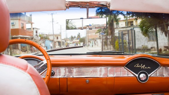 Куба-машина-ретро