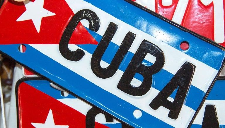 Куба-табличка