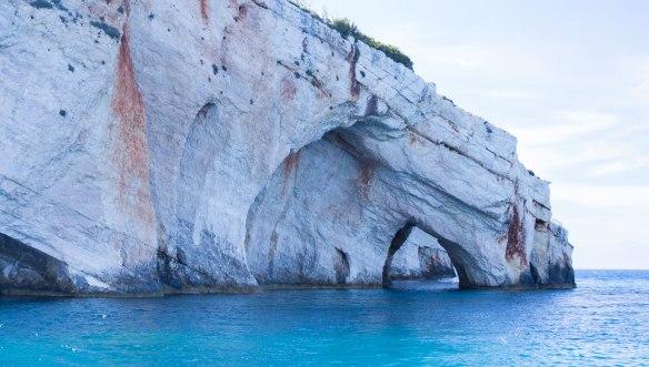 Греция-Закинтос-голубые-пещеры