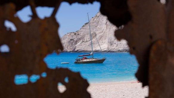Греция-Закинтос-пляж-Наваджио-1