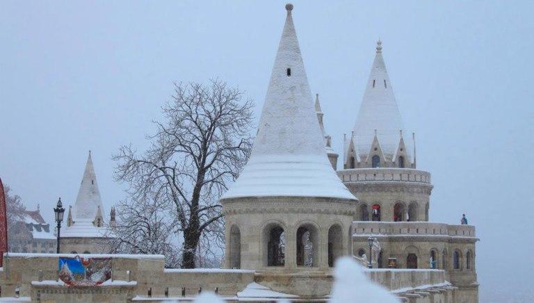 Рыбацкий-бастион-Будапешт
