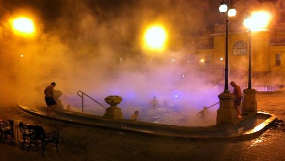 Термальные купальни Сечени