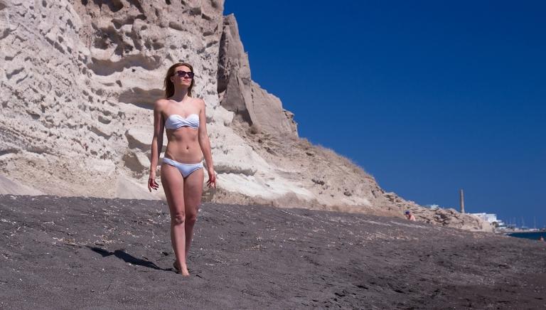 Санторин-Терос-пляж